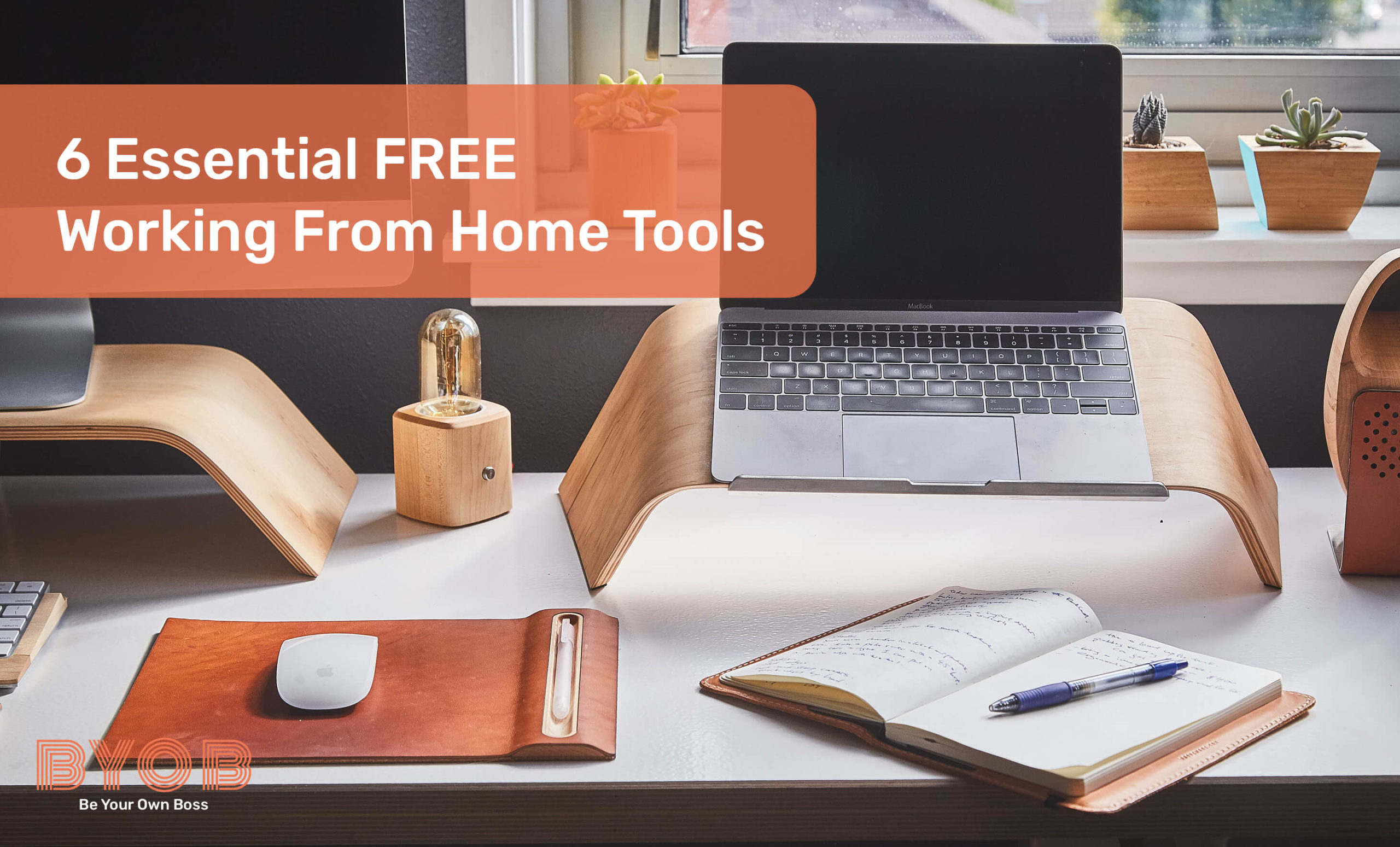 6 essential FREE tools when working from home